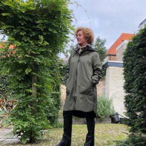 Jas Ilse Jacobsen Groen (2)