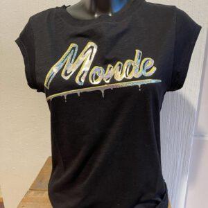 Coster Copenhagen T-shirt Monde Print